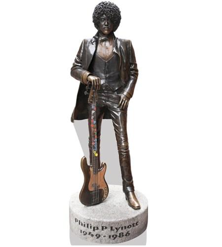 phil-lynott-statue-cardboard-cutout